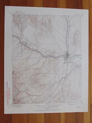 Pueblo Colorado 1957 Original Vintage USGS Topo Map