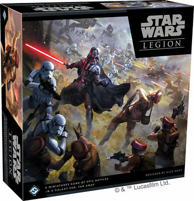 Star Wars Legion Core Set Game NIB Factory Sealed Brand New Starter Sealed New