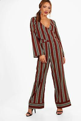 e1e3d416fff4 ... Athleisure Stripe Bomber Tracksuit in Black size S. $32.00 Buy It Now  27d 18h. See Details. Boohoo Womens Hannah Wide Leg Stripe Trouser