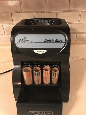 Royal Sovereign QS1AC Quick Sort Electric Coin Sorter