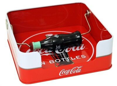 Coke Coca Cola Tin Napkin Holder Dispender!