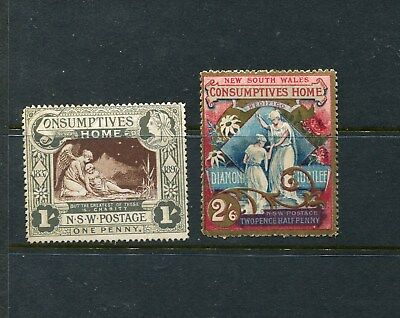 1897 Consumptive Home Set  very fine mint for these