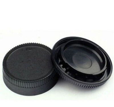 NEW Body Front + Rear Lens Cap Cover For Nikon AF AF-S AFS DSLR Camera LENS
