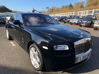 2010 Rolls-Royce Ghost 6.6 V12 Saloon In Black With Black Only 25,000 Miles