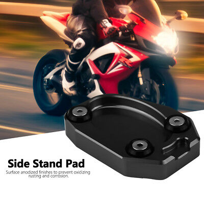 Motorcycle Side Kickstand Stand Extension Plate for Kawasaki Z1000 ER6N ZX10R