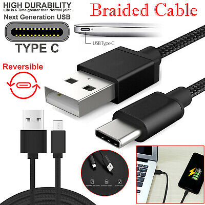 Heavy Duty USB C Type C Data Lead Fast Charging Phone Charger Extension Cable