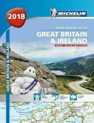 Great Britain & Ireland 2018 - A4 Spiral-Bound (Michelin Motoring Atlas)