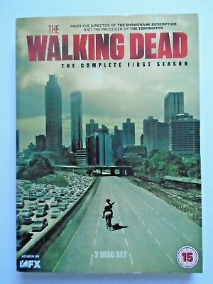 The Walking Dead - Complete First Season 1 (DVD, 2011) Andrew Lincoln