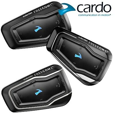 CARDO Headset FREECOM 1 2 3 4 Motorrad Bluetooth Scala Rider Interkom Biker
