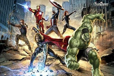 The Avengers : Strike - Maxi Poster 91.5cm x 61cm new and sealed