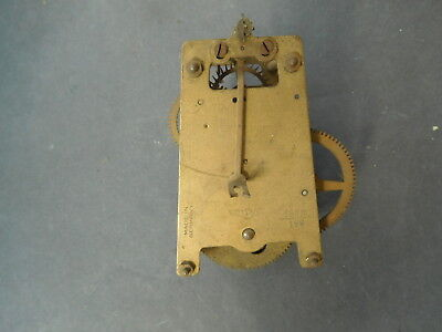 Small Antique German Clock Movement