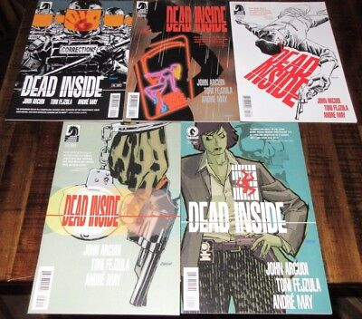Dark Horse Comics Dead 💀 Inside 1-5 Complete VF/ NM