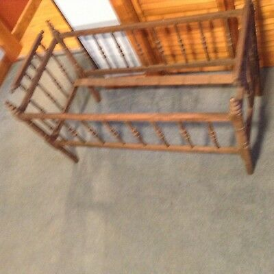 vintage wooden cradle frame for up cycling and craft and garden ideas