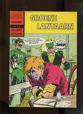 Dutch Green Lantern #85 (6.5) Speedy Drug Issue. Neal Adams Super Hard To Find!
