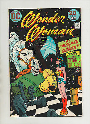 Wonder Woman #208 - Chessmen Of Death! - (Grade 8.0) 1973
