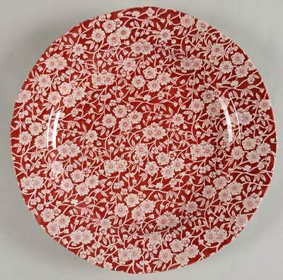 Burgess & Leigh CALICO RED Dinner Plate 7609256