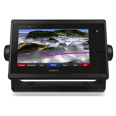 "Garmin GPSMAP 7607 J1939 7"" Widescreen Network Capable Chartplotter 010-01379-11"