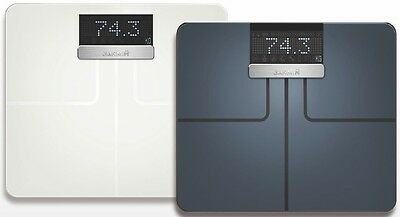 New In Box Garmin Index Smart Scale Black Or White  010-01591-00 010-01591-01