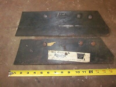 Oliver Raydex new plow point or land share new old stock from long closed store