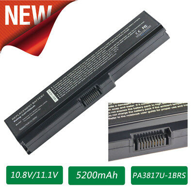 PA3817U-1BRS C655 For Toshiba Satellite L655 Laptop Battery PA3817U-1BAS 6 Cells