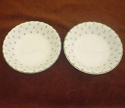 "2 Laura Ashley ""thistle"" Cereal Dessert Bowls"