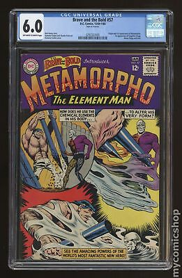 Brave and the Bold (1st Series DC) #57 1965 CGC 6.0 0293337005