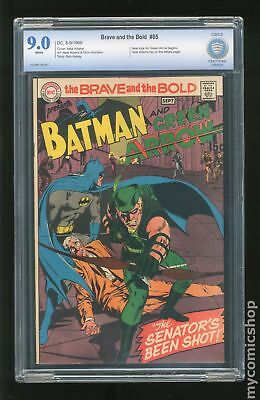 Brave and the Bold (1st Series DC) #85 1969 CBCS 9.0
