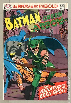 Brave and the Bold (1st Series DC) #85 1969 FN+ 6.5