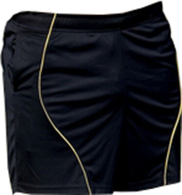 Precision Referees Shorts Training Short Pants Sportswear Black/Yellow