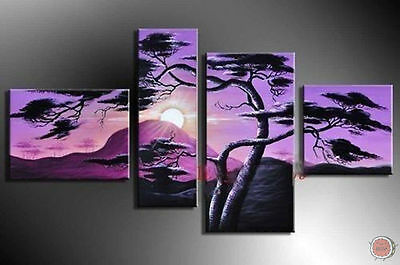 ZWPT393 large modern hand-painted landscape home wall art oil painting on canvas