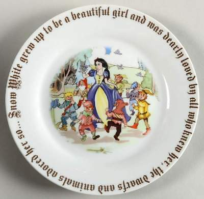 Cardew Design SNOW WHITE Beautiful Girl Accent Salad Dessert Plate 9508491
