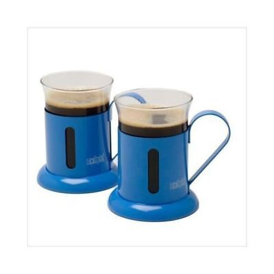 La Cafetiere Rainbow - Set of 2 Cups - Cobalt Blue