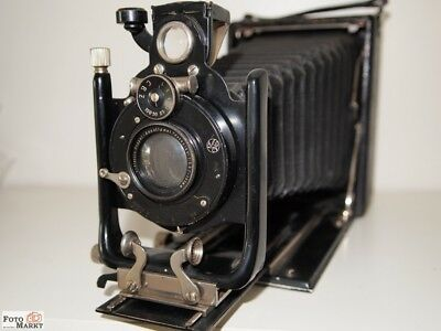 Zeiss Contessa Run Ground camera 9x12 Staeble Doppel-Anastigmat tessaplast