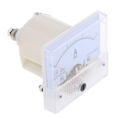 DC 0-3A Analog Amp Meter Ammeter Current Panel Ampere Meter 85C1 Class 2.5
