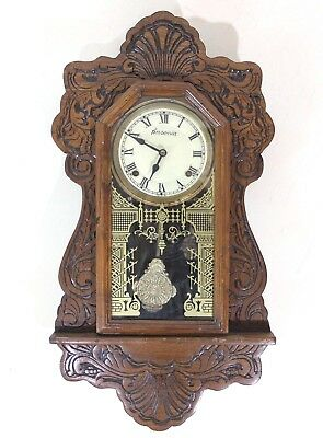 Ansonia Wall Clock with Movement - Working - Made in USA - UK Fast Post