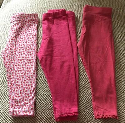 Next Baby Girls Peppa Pig & Pink Leggings Bundle. Age 9-12 Months