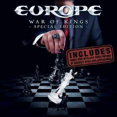 Europe - War Of Kings (special Edition) NEW DVD+Blu-Ray