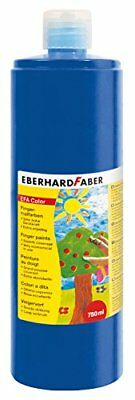 EBERHARD FABER Fingerfarbe EFA Color, kobaltblau, 750 ml