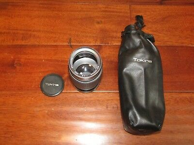 Tokina 80-200mm f3.5-4.5 RMC Lens Canon FD-Mount EXCELENT COND.