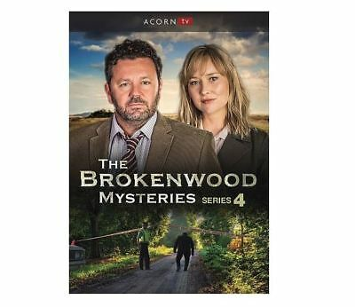 The Brokenwood Mysteries Series 4: Season 4 (DVD 2018, 4-Disc) four fourth New!