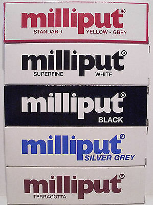 Milliput Epoxy Putty - Choice of 5 Colours 2 Part Epoxy Putty - 2nd Class Post