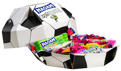 (1000g=11,40€) Haribo Maoam Football Fußball WM Kracher - 350 Gramm