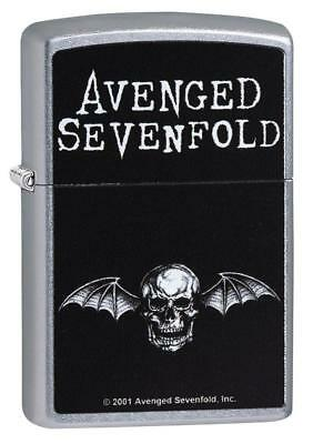 Zippo 29705, Avenged Sevenfold, Street Chrome Finish Lighter, Full Size
