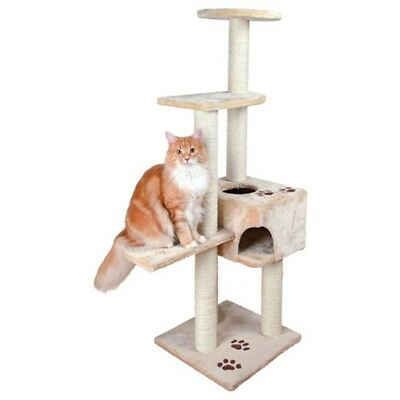 Trixie Pet Products Cat Tree Play House Scratcher Condo Pet House Combo -