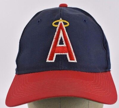 5269eea721a Navy Blue Los Angeles Angels Embroidered baseball hat cap Adjustable  Snapback