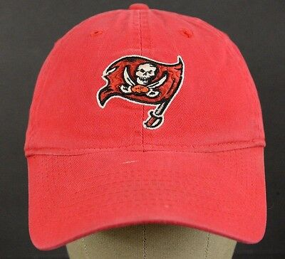 REEBOK NFL TAMPA Bay Buccaneers Red White Black Embroidered Baseball ... c0afd347d