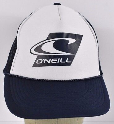 NAVY BLUE O'NEILL Surf Wear Co Logo Trucker hat cap Adjustable Snapback