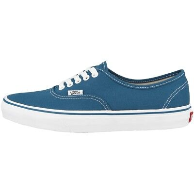 VANS AUTHENTIC SCARPE LOW CUT Sneakers Casual classiche blu marino EE3NVY