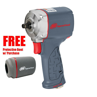 """Ingersoll Rand #15QMAX 3/8"""" Drive Quiet Ultra-Compact Impact Wrench"""