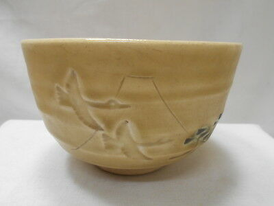 Japanese Tea Ceremony Pottery Bowl Chanoyu Traditional Vintage #139